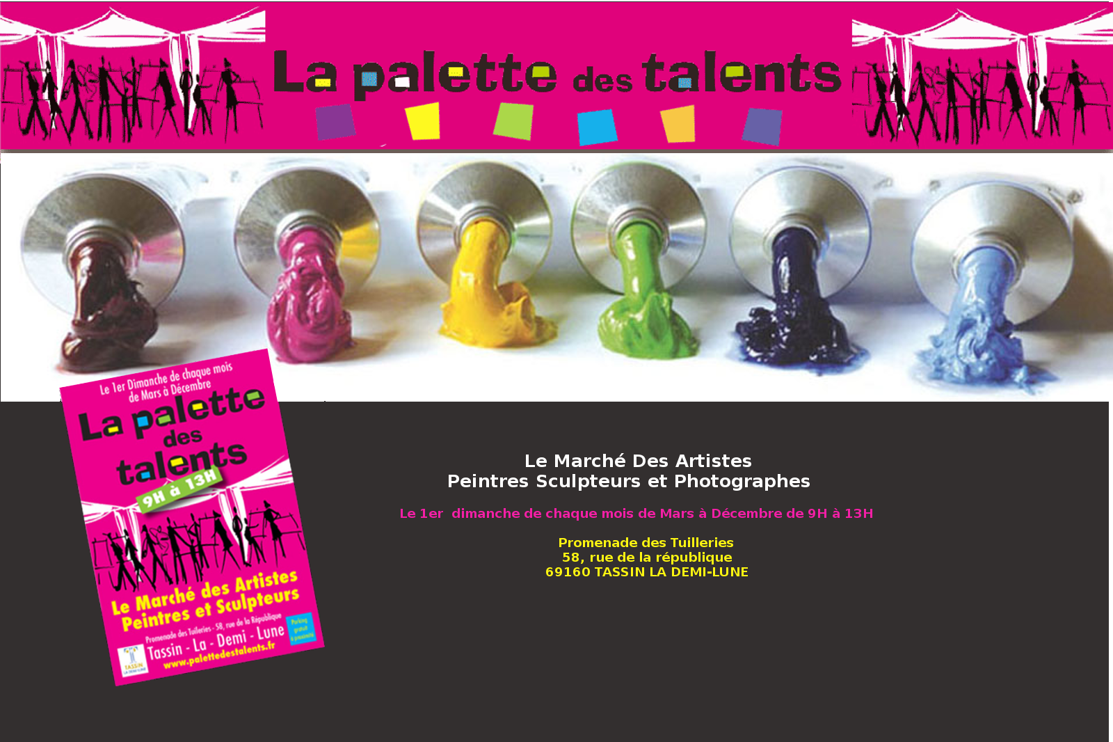 La palette des talents